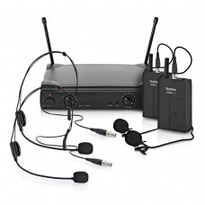 G4M-30 Dual Lavalier and Headset Wireless Microphone System