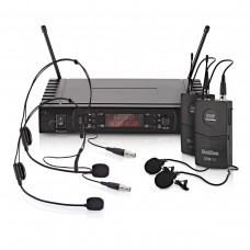G4M-50 Lavalier and Headset Wireless Microphone System