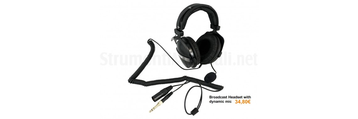 Headset with mic dynamic HLC 660 M