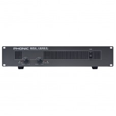 PHONIC MAX-1500 PLUS Amplifier 2x450W @ 4Ω