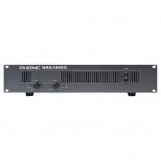 PHONIC MAX-2500 PLUS Amplifier 2x750W @ 4Ω