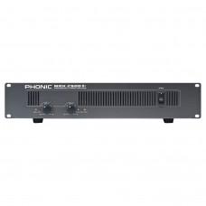 PHONIC MAX-2500 PLUS Amplifier 2x750W @ 4Ω